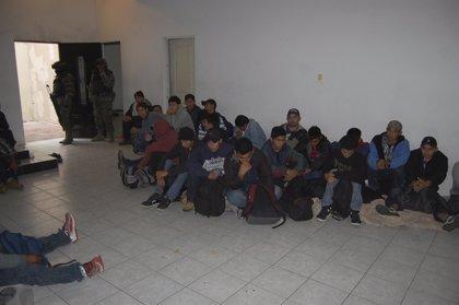 Rescatan a 49 migrantes centroamericanos en Reynosa (México)
