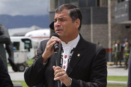 Correa ve Ecuador como sede del diálogo entre Gobierno de Colombia y el ELN pese al seísmo