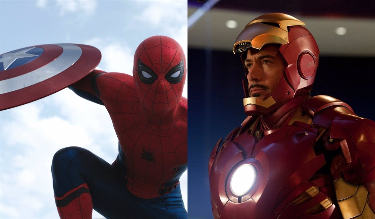Spiderman y Iron Man