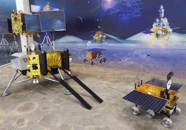 Prototipo de aterrizador y rover chino