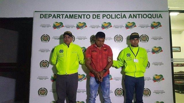 La Policía capturó a alias 'Manuel',