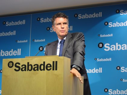 """Guardiola (Sabadell) sobre comisiones: """"La banca presta unos servicios y se deben cobrar"""""""