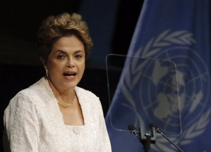 "Rousseff aprovecha la ONU para alertar del ""grave"" momento que atraviesa Brasil"
