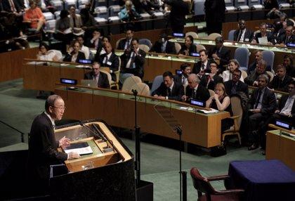 """Ban Ki Moon urge a los países a ratificar """"cuanto antes"""" el acuerdo de París"""