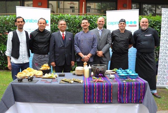 Presentación de la Semana Gastronómica Mexicana de Caprabo