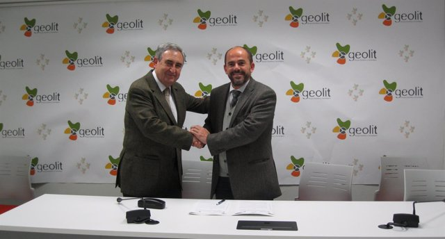 Firma de acuerdo entre Geolit y Cruz Roja