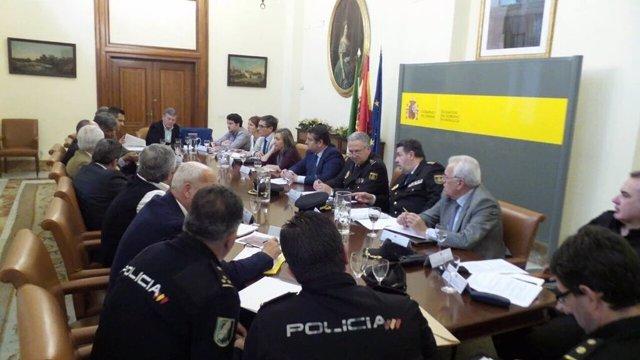 Reunión de seguridad de cara al derbi Sevilla-Betis