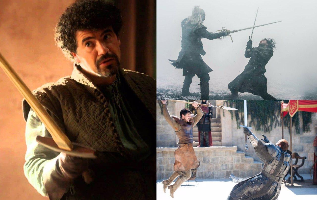 Collage con los mejores duelos de Juego de tronos