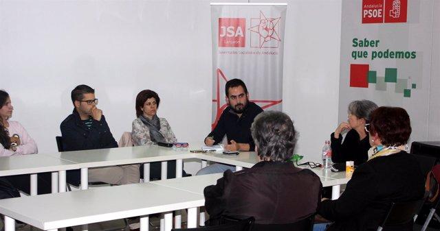 Asamblea del PSOE en Lanjarón (Granada)