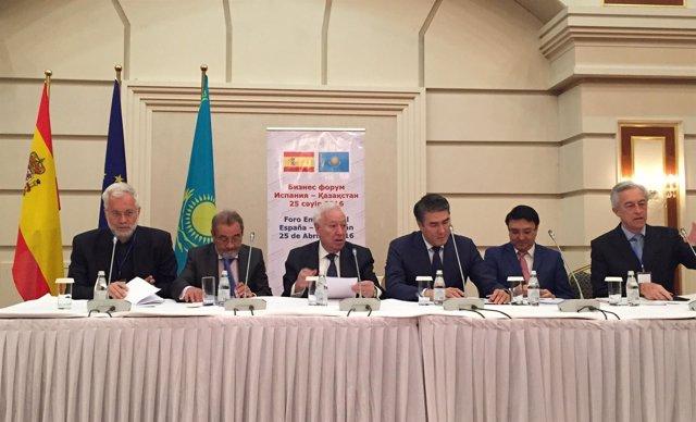 Comité empresarial con Kazajistán.