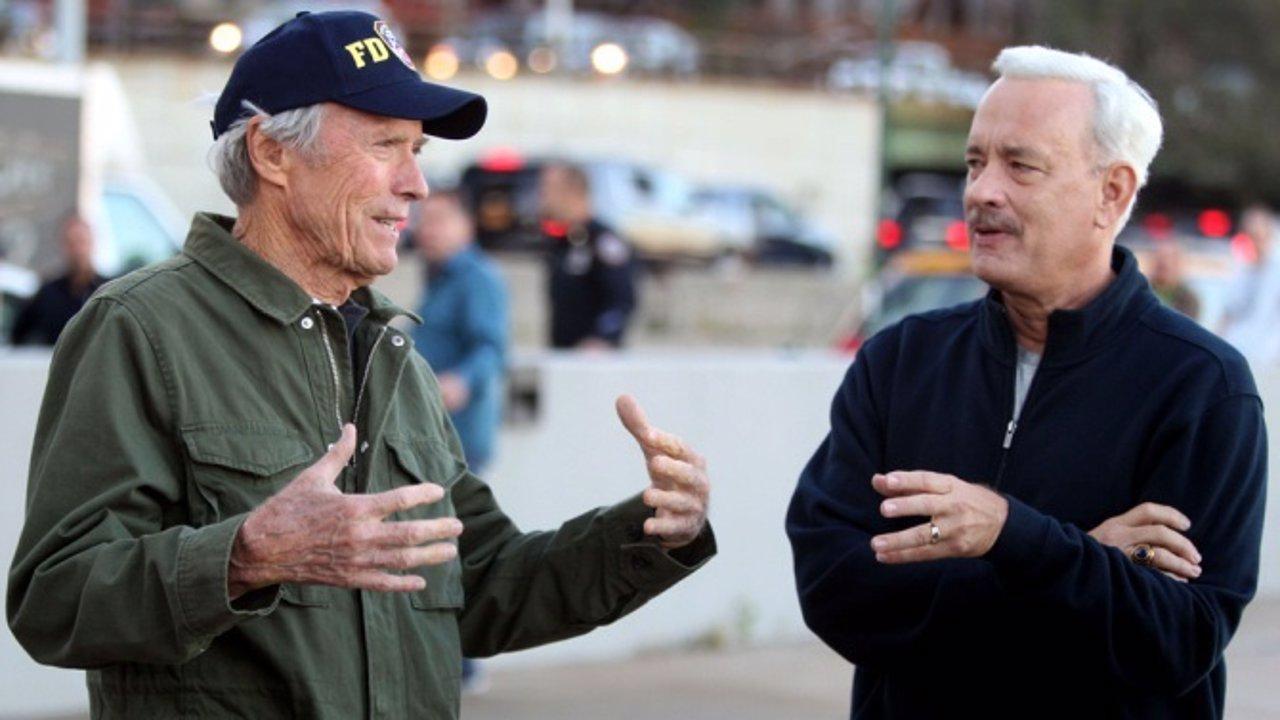 Clint Eastwood y Tom Hanks en Sully
