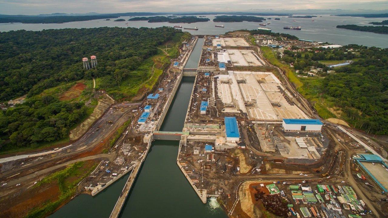 Resultado de imagen para Fotos de la Ampliación del Canal de Panamá