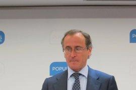 """Alonso dice que los ciudadanos hablarán """"con más claridad para que nadie les pueda malinterpretar"""" si hay elecciones"""