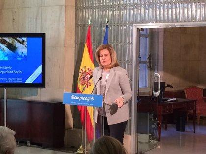 """Báñez asegura que la Seguridad Social es sostenible """"a medio y largo plazo"""""""