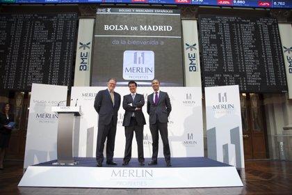Merlín reparte mañana un dividendo de 0,108 euros por acción