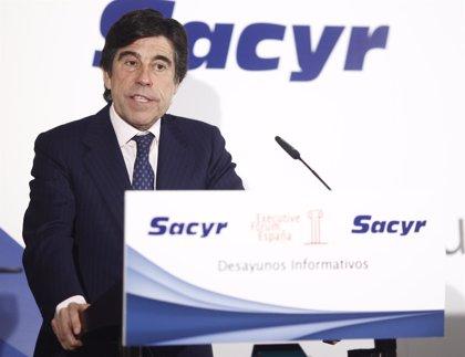 Sacyr se dispara un 8,3% en Bolsa y marca un máximo anual impulsada por su negocio concesional