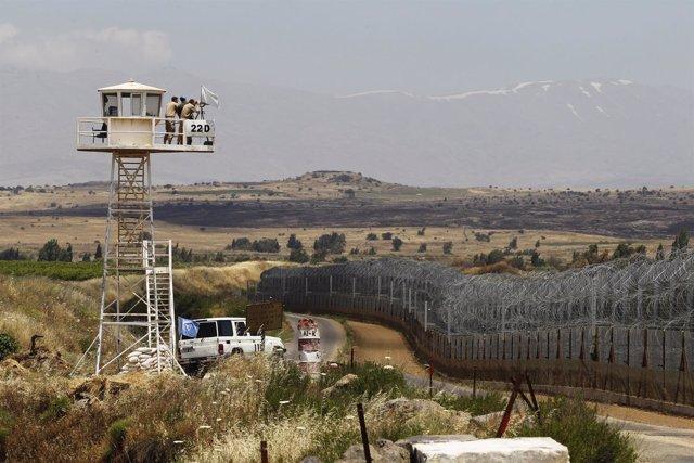 Puesto de observación de la ONU en los Altos del Golán