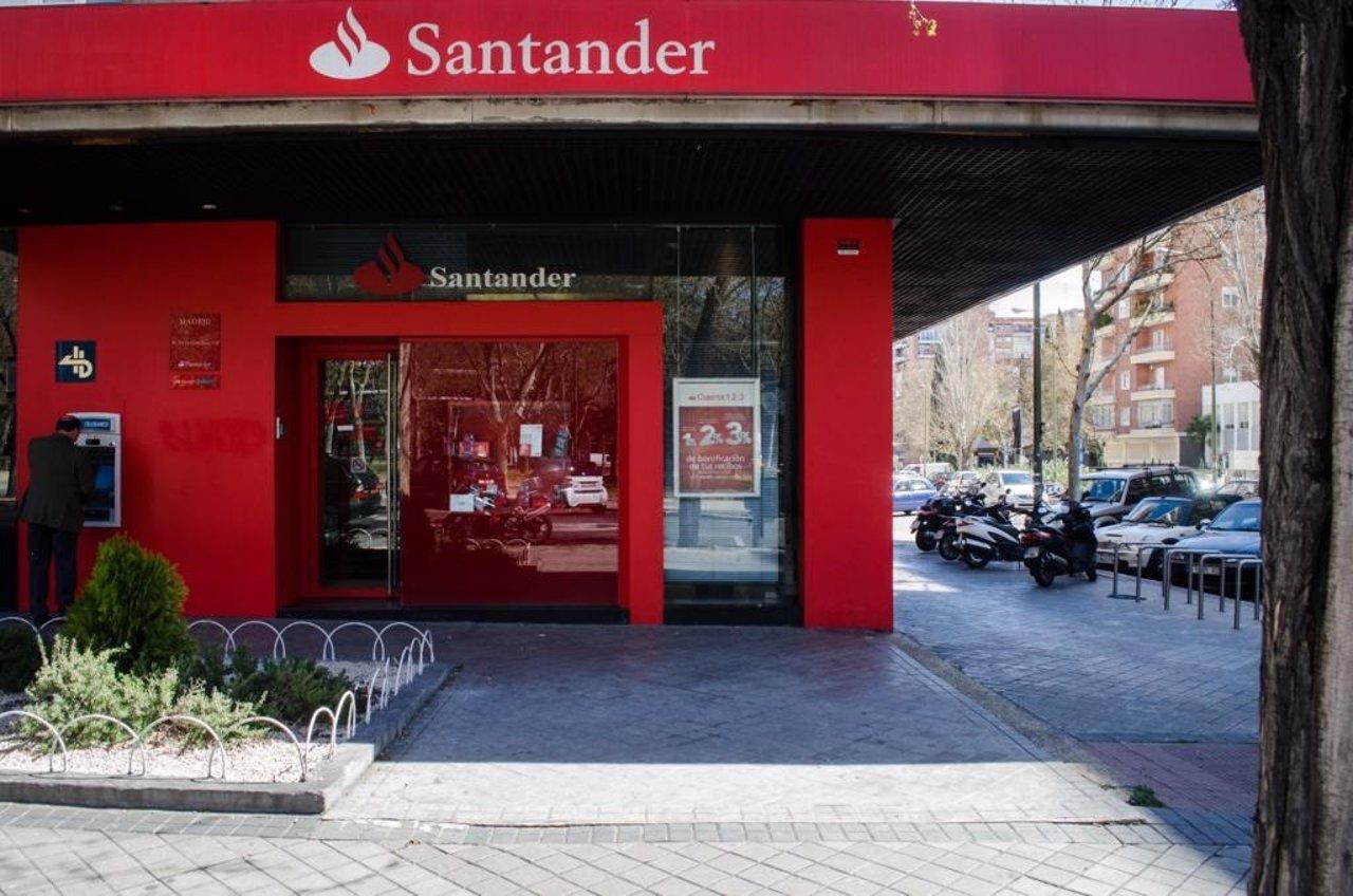 Sucursal,  banco Santander