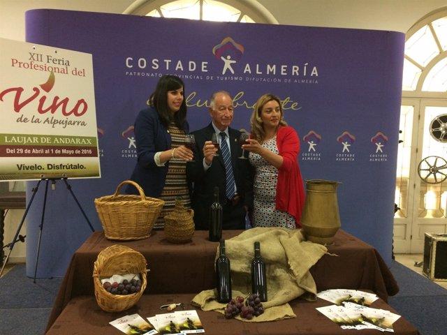La Feria del Vino de la Alpujarra espera contar con éxito de participación.