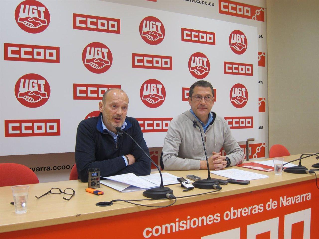 Raúl Villar y Javier Lecumberri.