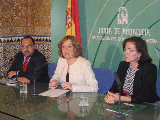 Rafael Peral, Carmen Ortiz y Gracia Fernández