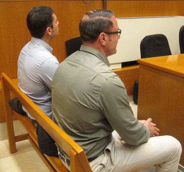 Los mossos acusados de dejar sin ojo a Ester Quintana, Llorens B. Y Eduardo C.