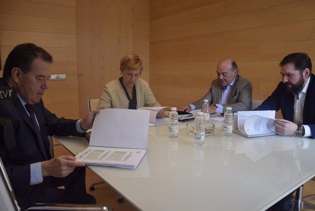 Reunión FER con el Gobierno riojano