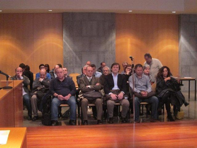 Acusados en el Caso Marea durante el juicio