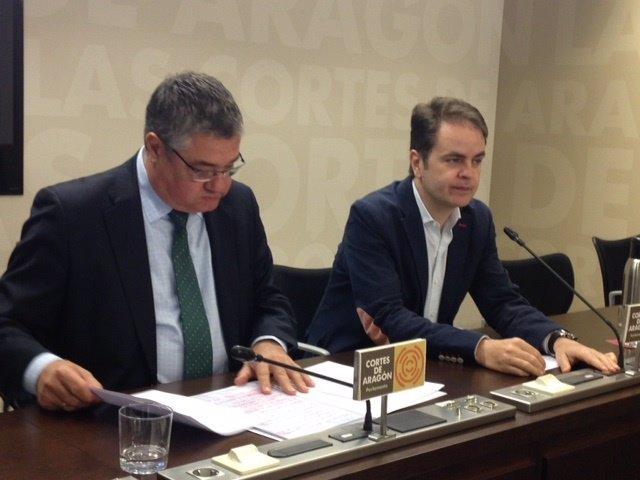 Antonio Torres y Roberto Bermúdez de Castro (PP)