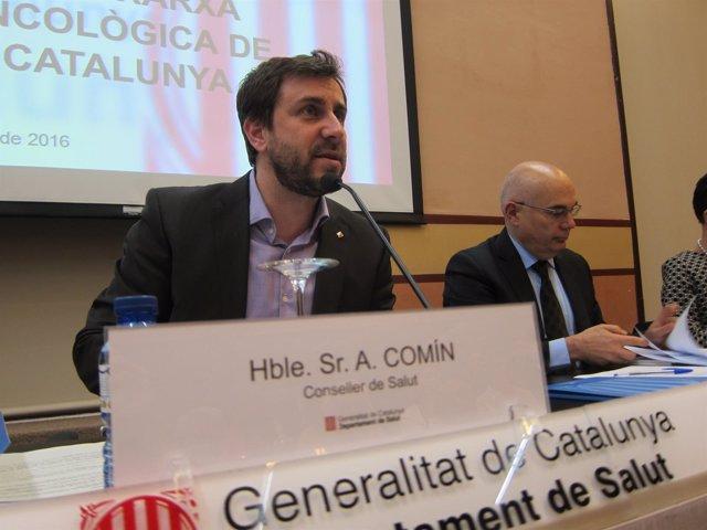 El conseller de Salud, Toni Comín