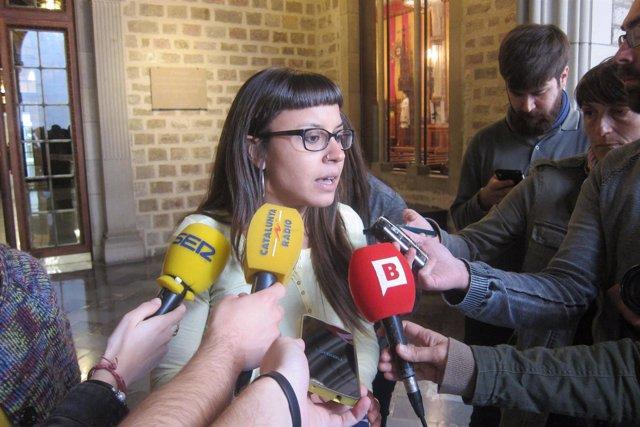 La concejal de Barcelona Maria Rovira (CUP)