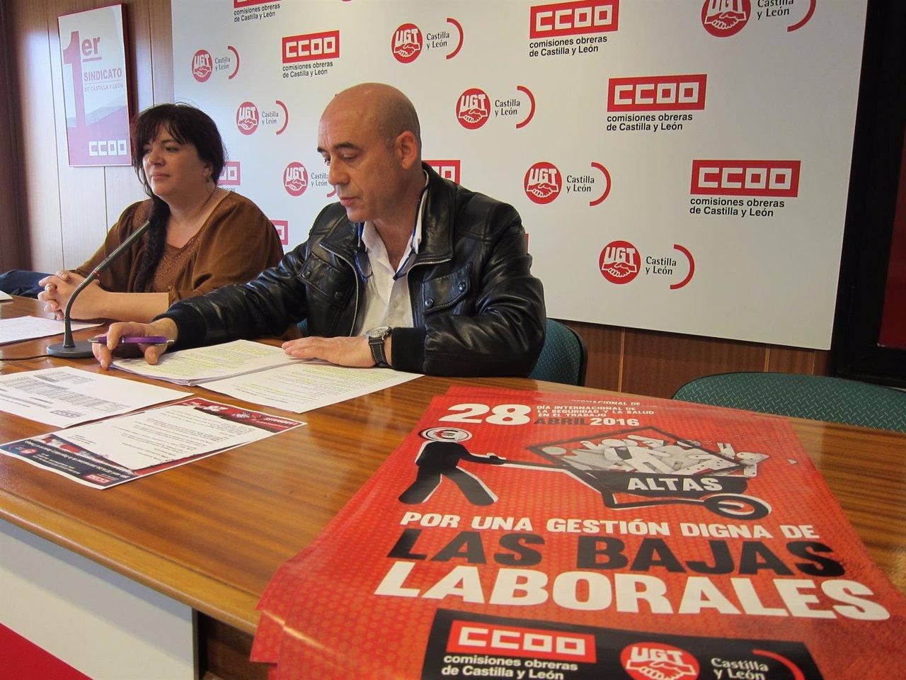 Pérez y Sanz Lubeiro presentan los actos del Día de la Salud Laboral