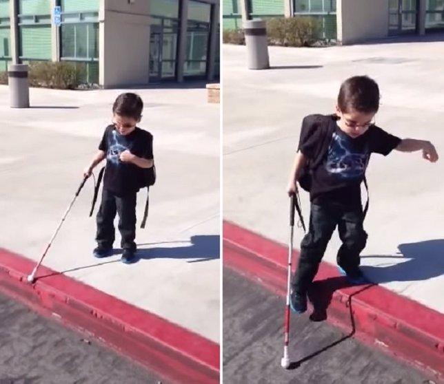 """""""¡Puedo Hacerlo!"""", Las Inspiradoras Palabras De Un Niño De 4 Años Ciego"""
