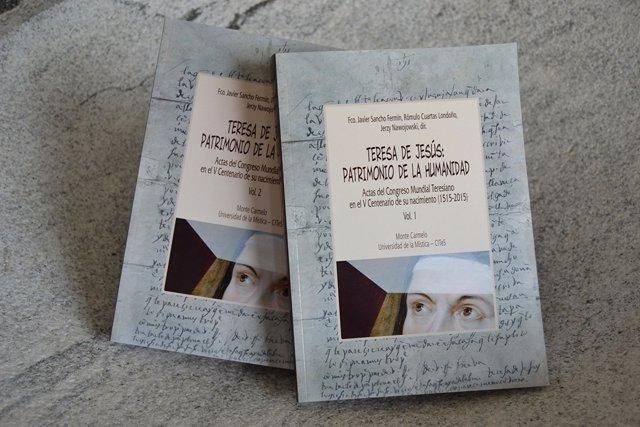 Portada del libro sobre Teresa de Jesús,