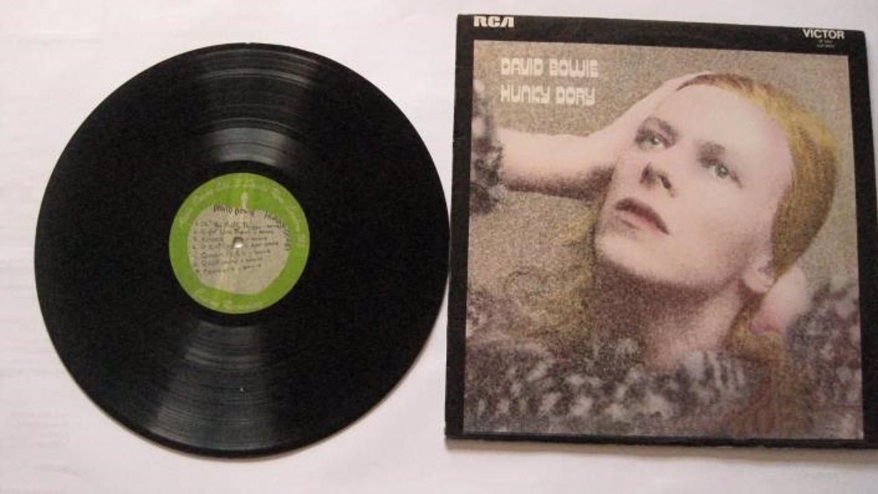 Vinilo inédito de David Bowie