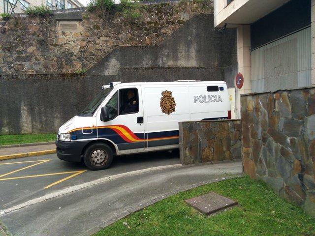 Detenido crimen Ferrol llega a los Juzgados
