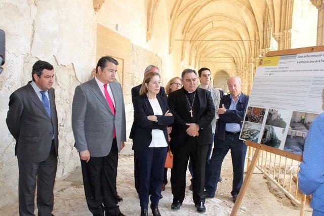 Ana Pastor visita la Cartuja de Jerez