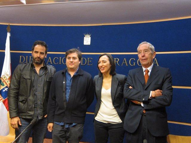 Cebirán, Lacosta, Palacín y Gimeno han presentado los premios hoy en la DPZ