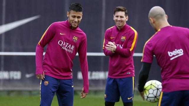 Entreno Barça (FOTO: Miguel Ruiz/FCB)