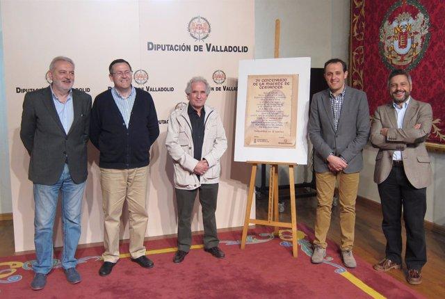 Presentación de las actividades sobre Cervantes en Valdestillas