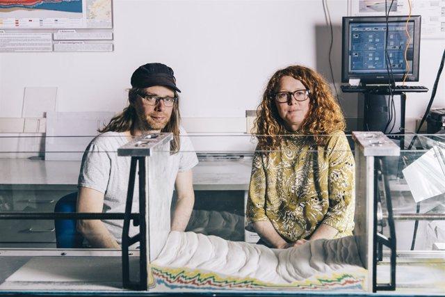 Los artistas Ruth Jarman y Joe Gerhardt de SonarPlanta