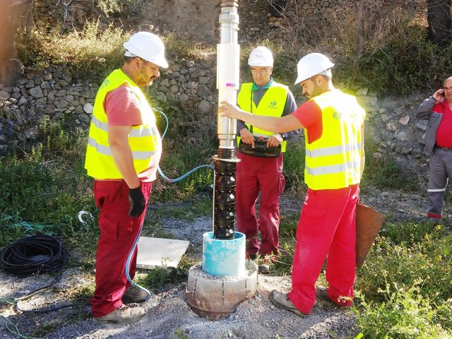 Diputación ha impulsado la construcción de un sondeo en Alcolea.