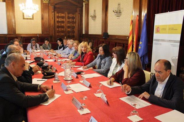Reunión de la comisión agraria
