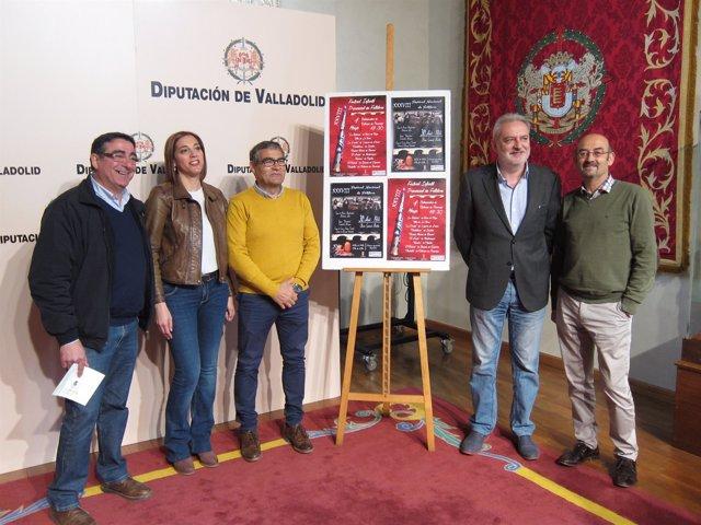 Presentación de las fiestas de San José Obrero de Cabezón (Valladolid)