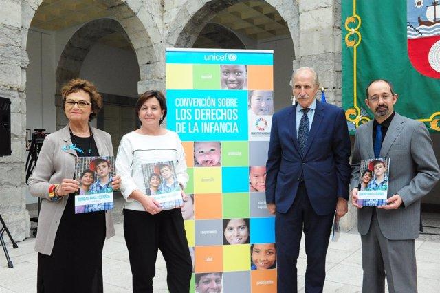Nota Y Foto Presentación Informe UNICEF