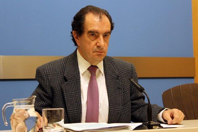 El concejal del PP, Enrique Collados