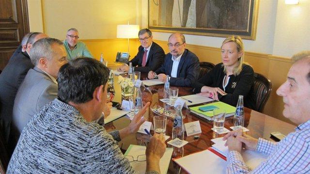 El Gobierno de Aragón se reúne con el sector del carbón