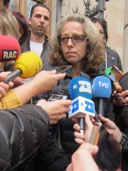 Ester Quintana tras el juicio contra los dos mossos