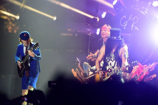Guns N' Roses Y AC/DC
