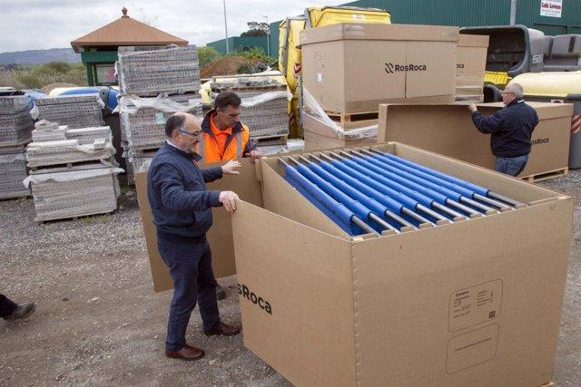 Nuevas tapas para los contenedores de basura